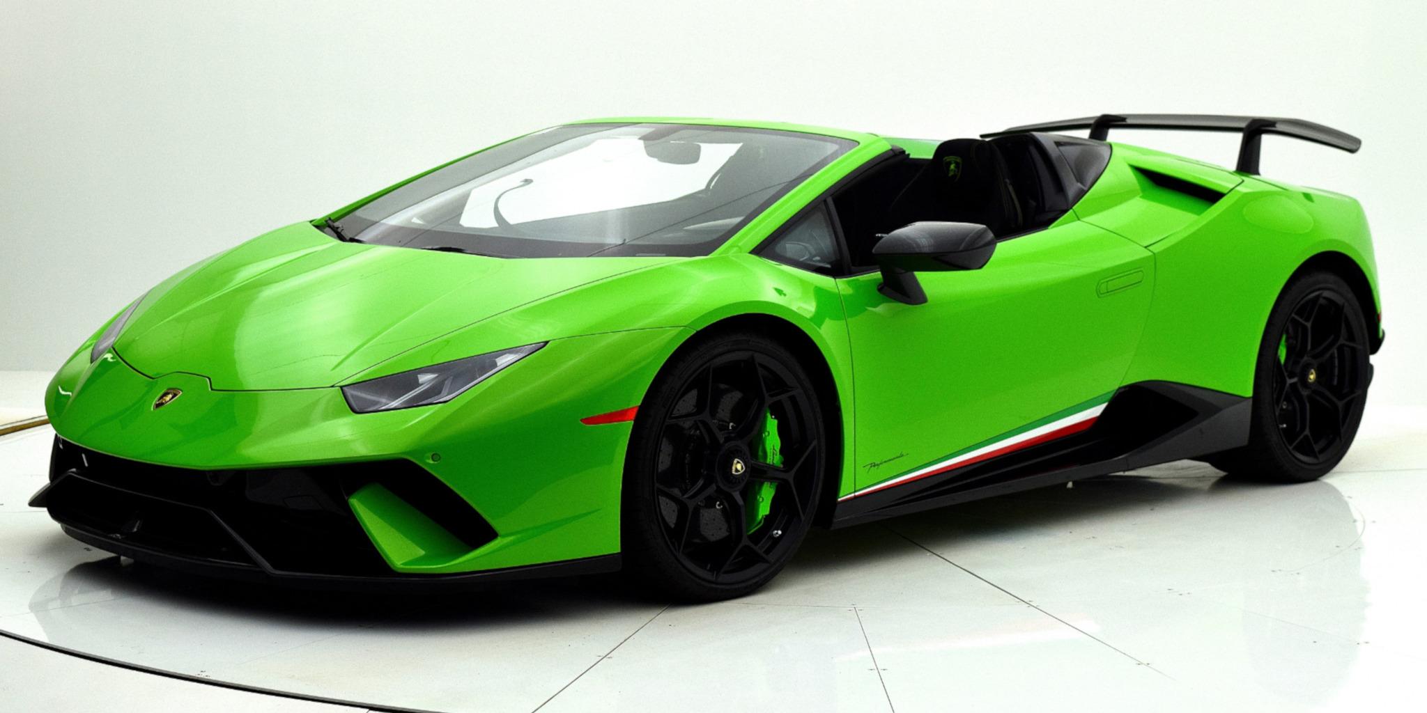 Lamborghini Huracan Performante Spyder Up Cars