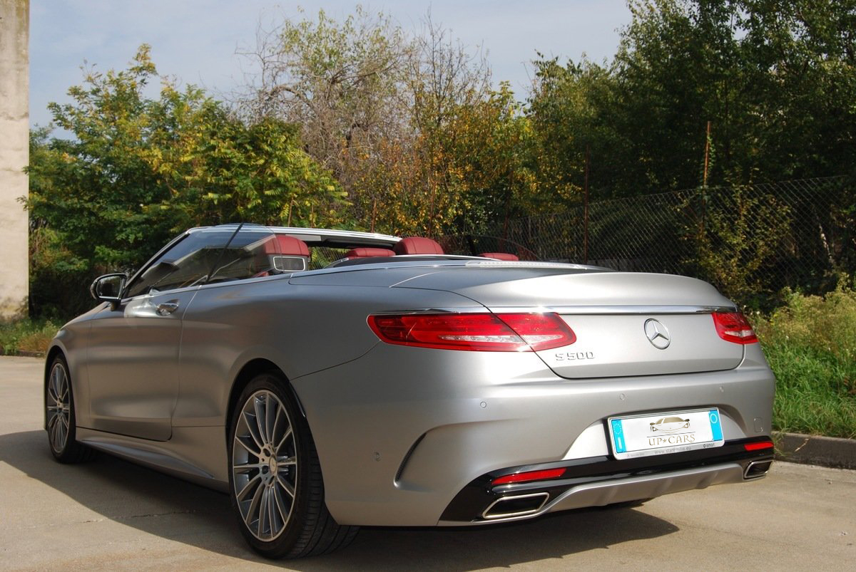 Mercedes S Class Cabriolet Rent Up Cars
