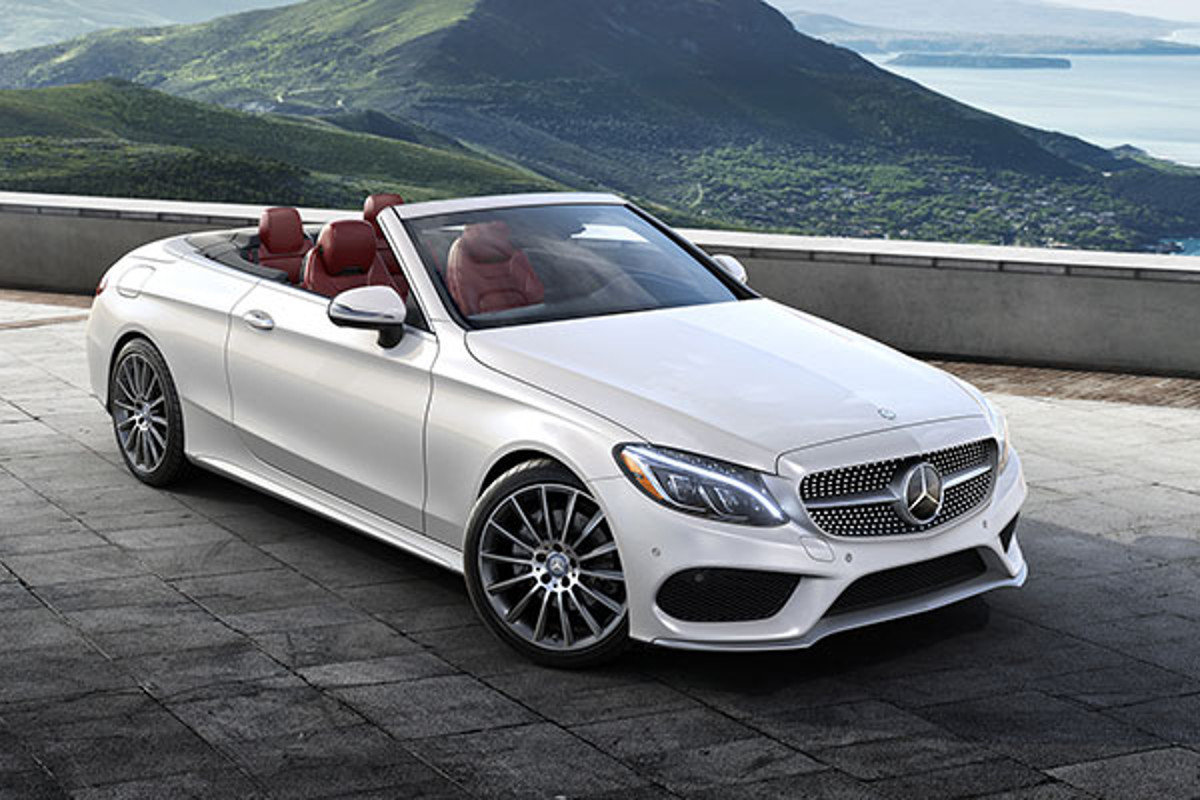mercedes classe c cabrio rental up cars. Black Bedroom Furniture Sets. Home Design Ideas